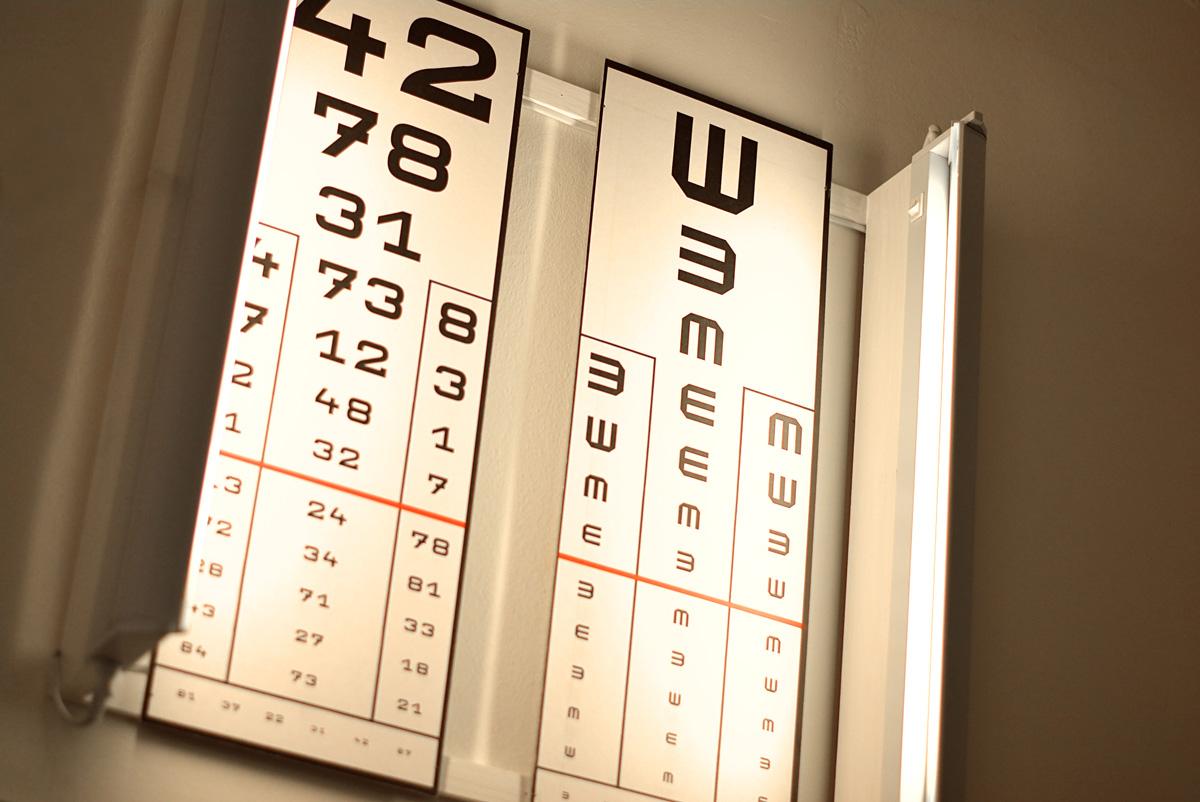Látásvizsgálat új táblázat. Látásvizsgáló tábla (Snellen-tábla)